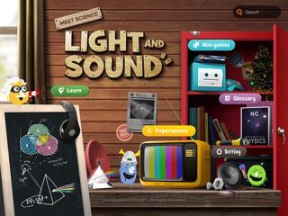 Animated App Teaches Kids About Light and Sound