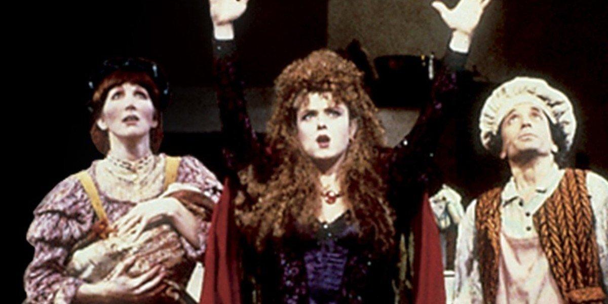 Chip Zien, Joanna Gleason, an Bernadette Peters in Into The Woods