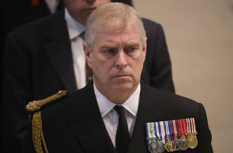 prince andrew birthday major change fly flags