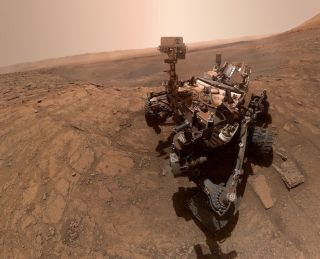 NASA's Curiosity rover has detected several intriguing spikes of methane in the air of Mars' Gale Crater.