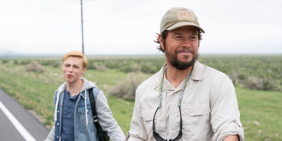 Reid Miller and Mark Wahlberg in Joe Bell