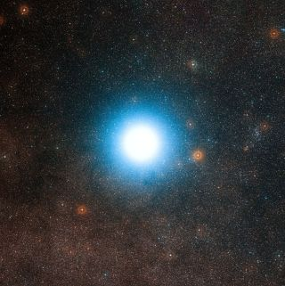 Alpha Centauri and Surroundings
