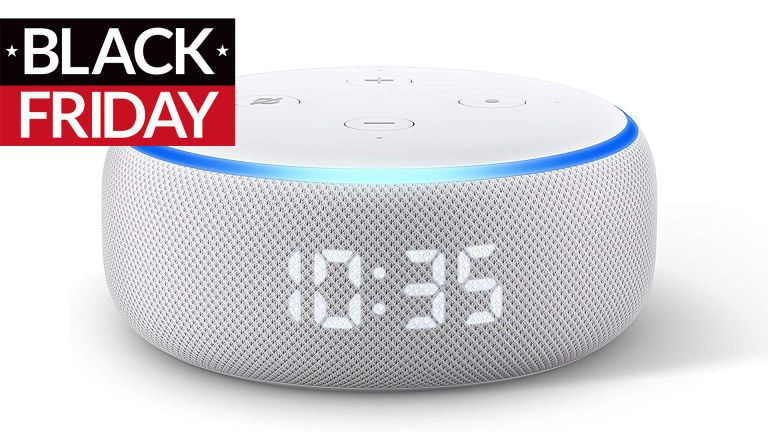 best Amazon Echo Dot with clock Black Friday deals