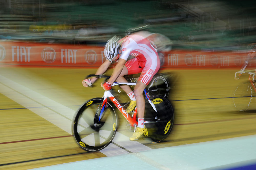 Jon Mould wins scratch race, British track national championships 2011, day three