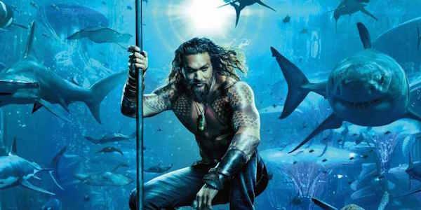 Aquaman and sharks 2018 movie