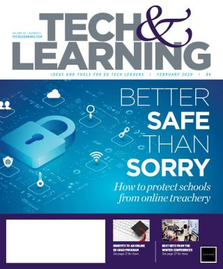 Tech&Learning's February 2020 cover