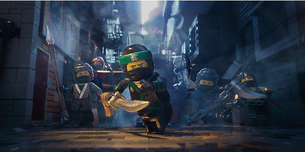 LEGO Ninjago Ninja team in action
