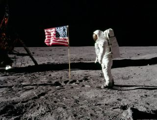 These astronaut footprints on the Moon aren't protected yet.