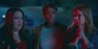 JoAnna Garcia, Brooke Elliott, and Heather Headley in Sweet Magnolias Season 1