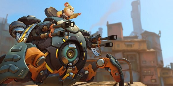Hammond pilots Wrecking Ball Overwatch