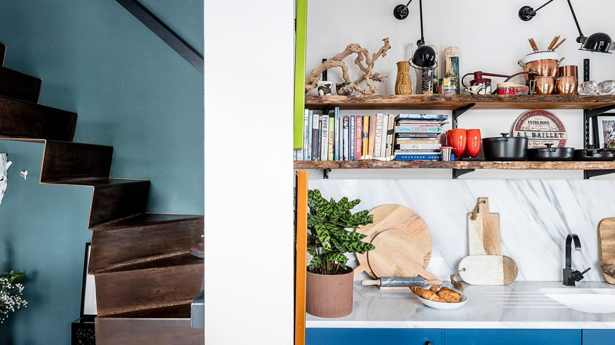 This striking skinny house in Brixton packs in maximalist interiors and space-saving ideas