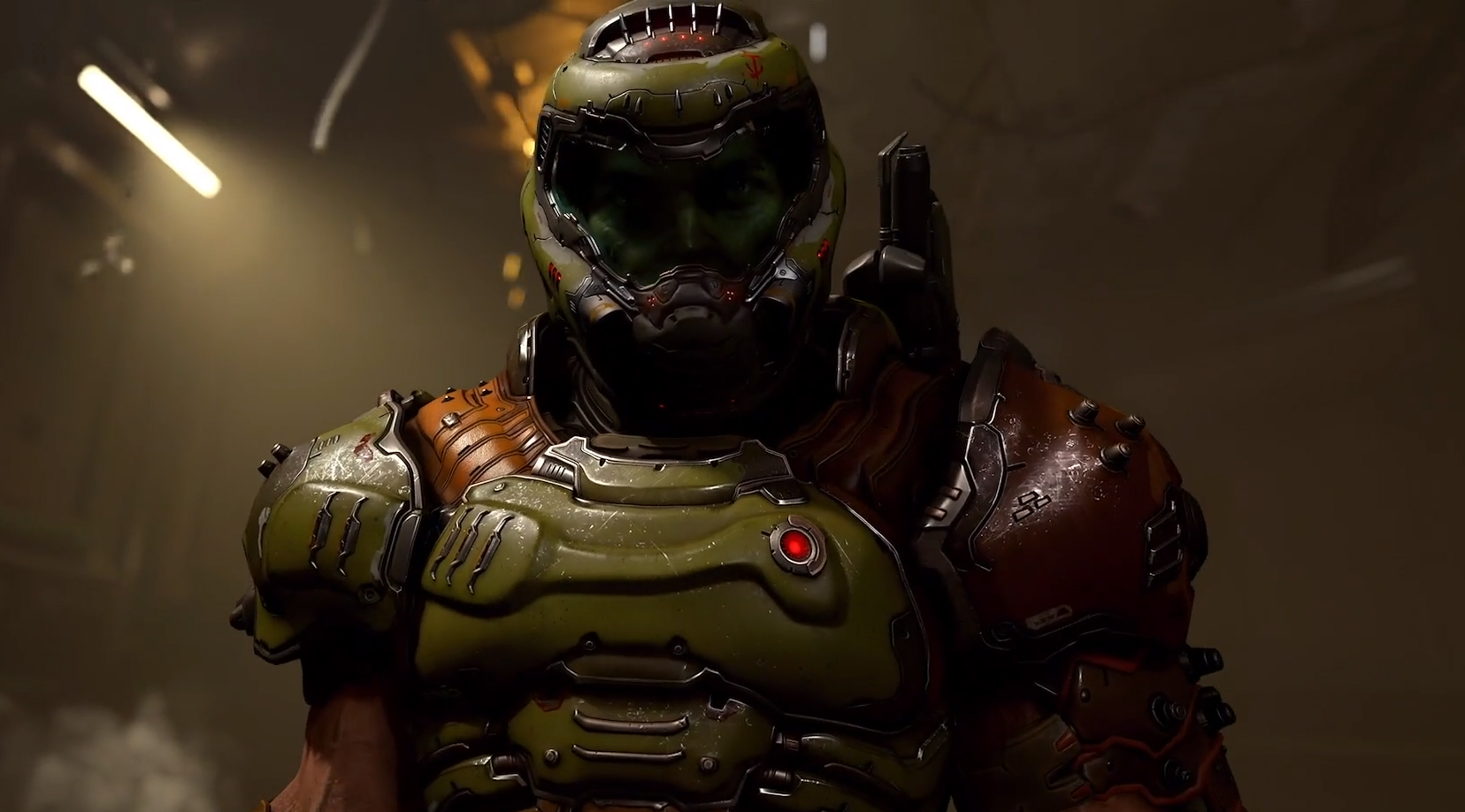 Doom Eternal Has A Hub Where You Ll See How Doomguy Spends His