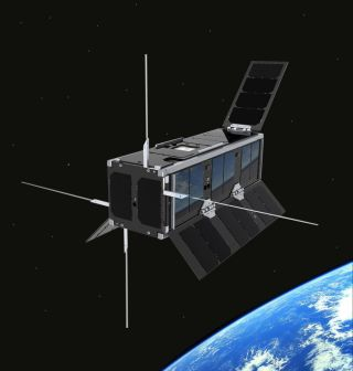 Scotland's first spacecraft is a tiny satellite called UKube-1 launching in 2013.