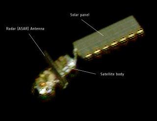 ENVISAT as Seen by Pleiades Satellite