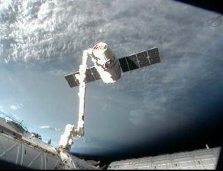 Spacex Dragon Capsule Undocking