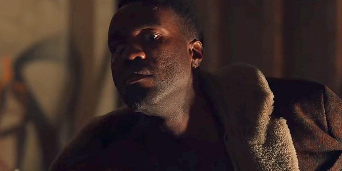 Yahya Abdul-Mateen as the Candyman in Nia DaCosta's 2021 film
