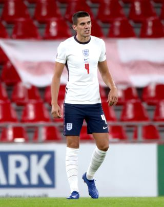 Wolves captain Conor Coady made his England debut on Tuesday night.