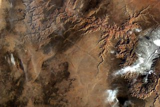 Grand Canyon by the Sally Ride EarthKAM