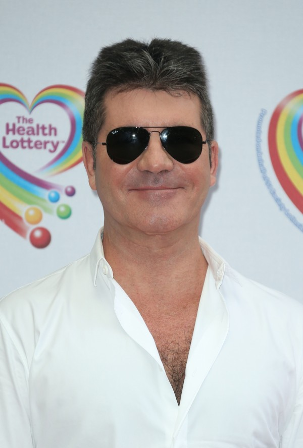 A picture of Simon Cowell at a showbiz event