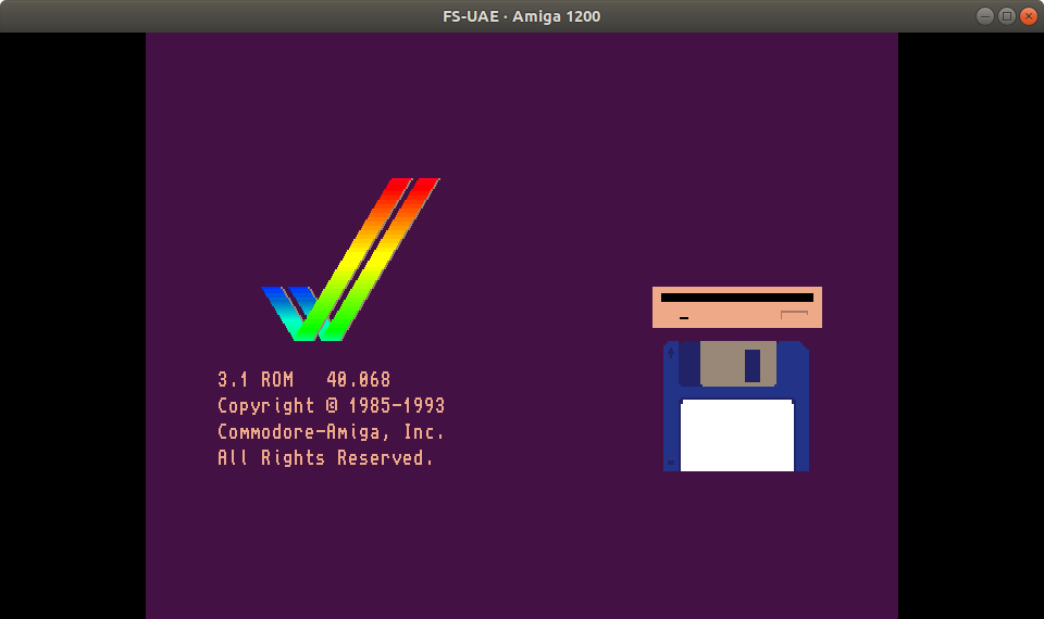 How Emulate an Amiga 1200 on Your Linux PC or Raspberry Pi