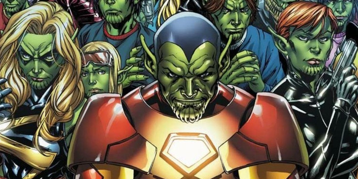 Super Skrulls from the Secret Invasion comic book event