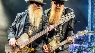Billy Gibbons and Dusty Hill, 2012