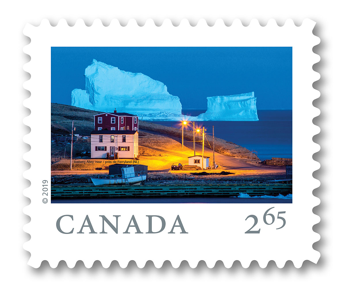 Landscape photographer scores big with image on worldwide stamp