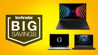 Intel Gamer Days gaming laptop deals hero