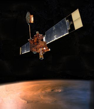 NASA's Newest Red Planet Orbiter to Search for Silent Mars Global Surveyor
