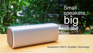 New Qualcomm amplifier tech prioritises sound quality in small, budget speakers