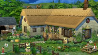 The Sims 4 Cottage