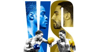 Fox Sports Pay Per View Promo Banner Errol Spence Jr. vs. Danny Garcia.