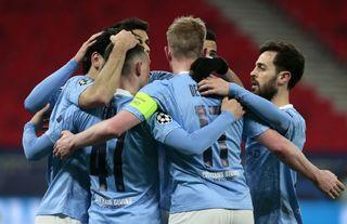 Manchester City v Borussia Monchengladbach – UEFA Champions League – Round of 16 – Second Leg – Puskas Arena