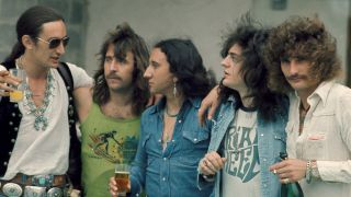 A photograph of Uriah Heep taken in 1973
