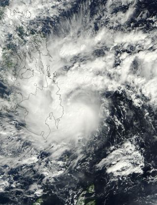 Tropical Storm Washi Minandao southern Philippines