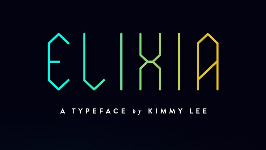 Best free fonts: Elixia