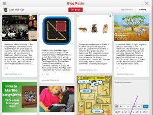 Class Tech Tips: Pinterest for Educators