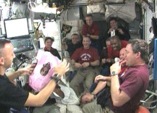 It's a Girl! Astronaut's Daughter Born While He's in Space