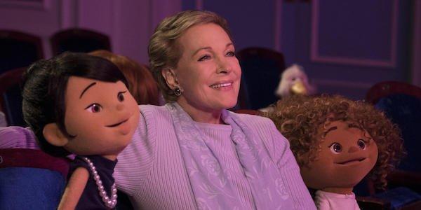 Julie Andrews in her Netflix show
