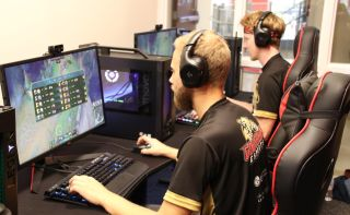Caldwell University recently opened a brand-new esports arena featuring LG's commercial-grade gaming monitors and digital signage displays.