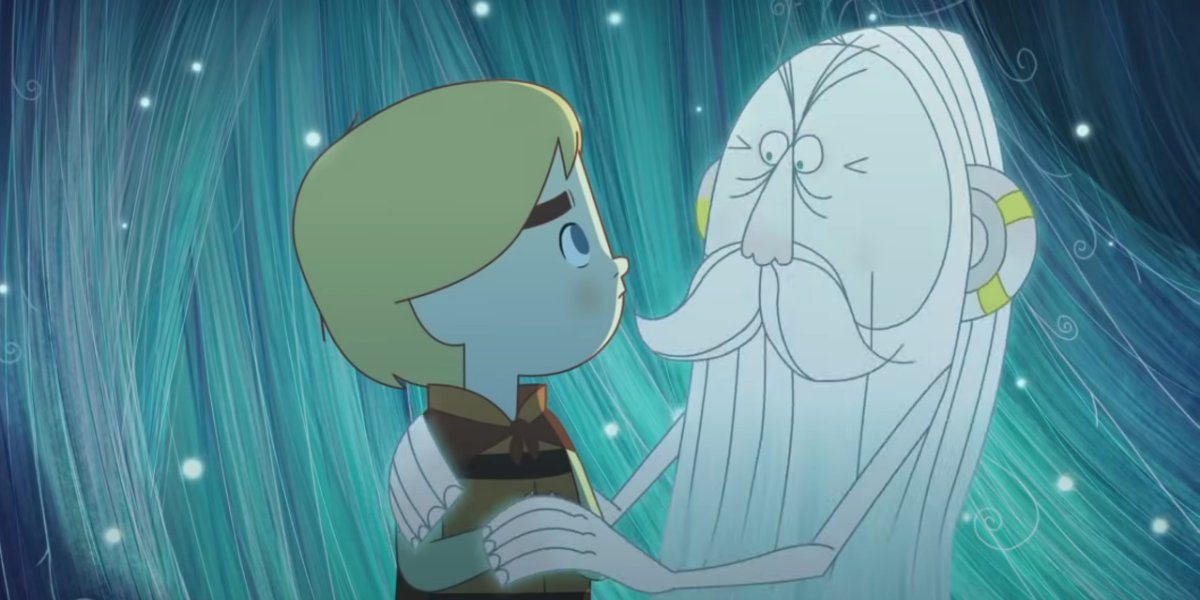A screenshot from Song Of The Sea