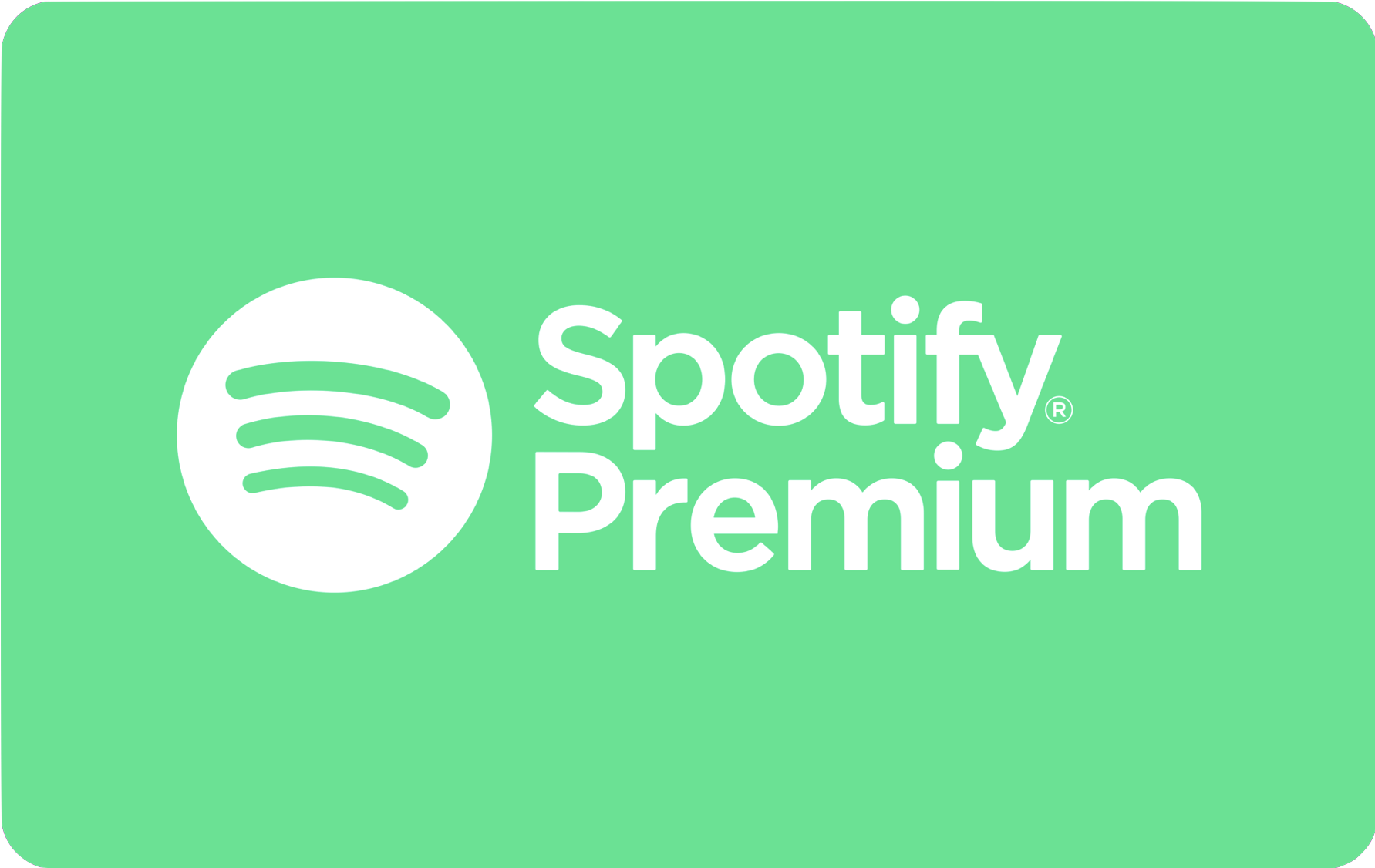 Spotify Annual Subscription