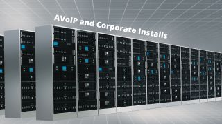 Installing AVoIP in a corporate environment