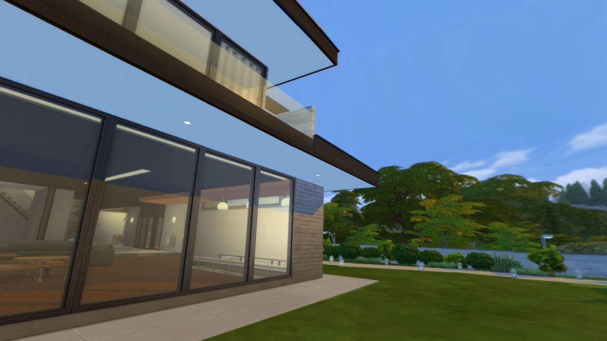 Give your Sims a taste of class conflict by moving them into the house from Parasite