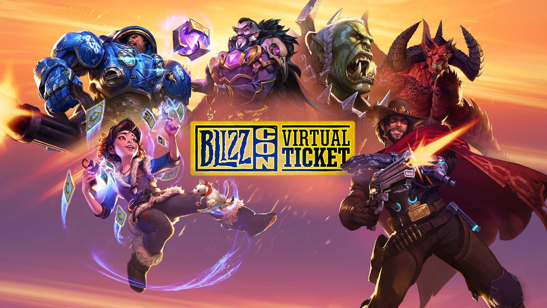 BlizzCon virtual ticket will let you play World of Warcraft