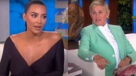 Kim Kardashian Corrected Ellen DeGeneres For Assuming Her Son's Chain Is Fake, And The Internet Has Thoughts