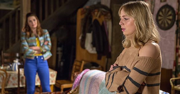 Chrissie White fails to convince Lachlan White to go to Australia until she commits a huge betrayal behind Lachlan's back, when she manages to get Belle Dingle to end their relationship after telling her all about his mental problems and his episode in the attic in Emmerdale