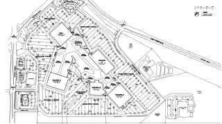 The floorplan for Cary Towne Mall.