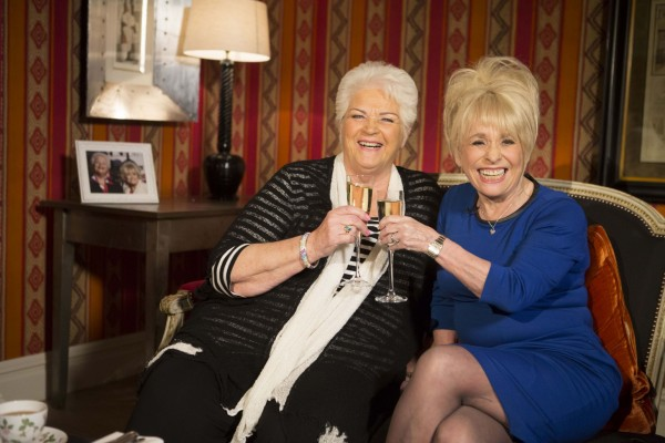 Pam St Clement Barbara Windsor