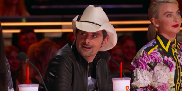 America's Got Talent Guest Judge Brad Paisley Says Howie Mandel Can 'Suck It' Over Dance Act
